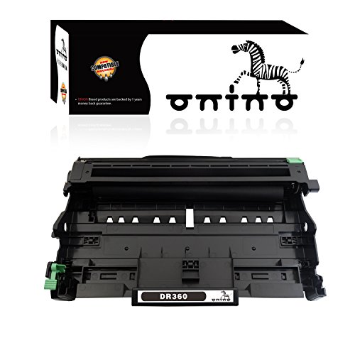 onino Compatible Drum Unit Replacement for Brother DR360 DR 360 DR-330 Work with HL-2140 HL-2170 DCP-7040 HL-2170W Printer (1-Pack)