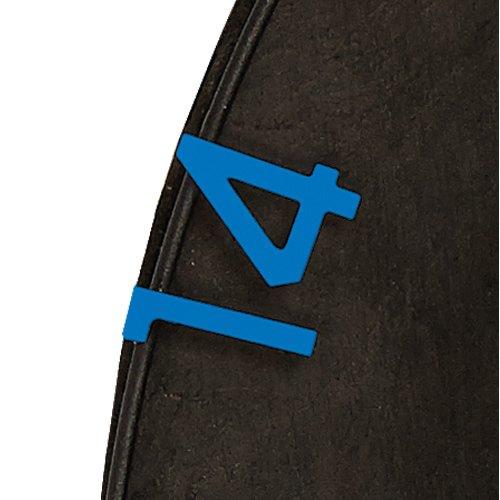 Unicorn Dartboard Ersatzzahlen Blau