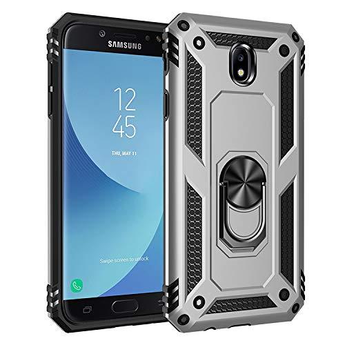 BestST Galaxy J7 2017/J730 Custodia Cover Case, [Slim Armor] Resistente alle Cadute Armatura dell'impatto Robusta Custodia Kickstand Shockproof Protective Case Cover per Samsung Galaxy J7 2017/J730