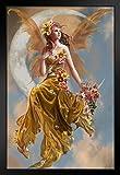 Poster Foundry Nene Thomas Earth Moon von Nene Thomas,