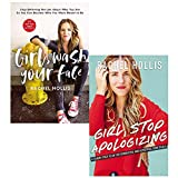 Rachel Hollis Collection 2 Books Set (Girl Wash Your Face [Hardcover], Girl Stop Apologizing)