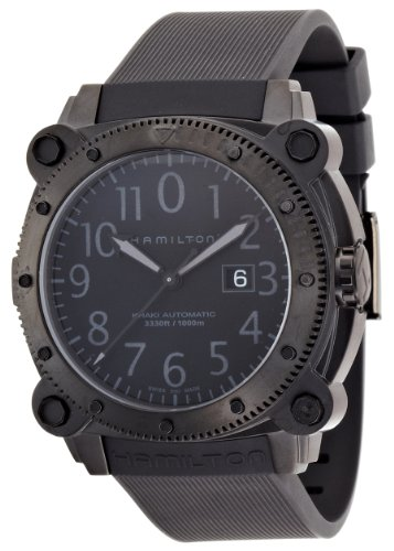 [ハミルトン] 腕時計 KHAKI BeLOWZERO 1000(カーキ ビロウゼロ1000) 100気圧防水 H78585333 正規輸入品 ブラック