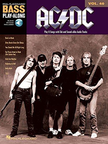 AC/DC: Bass Play-Along Volume 40 [Lingua inglese]