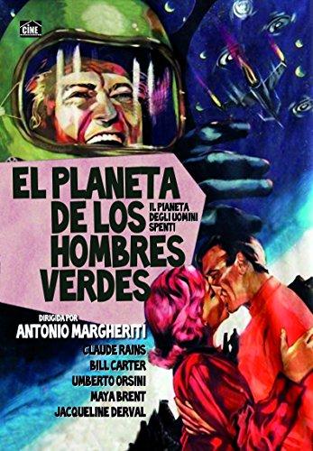 Il pianeta degli uomini spenti (EL PLANETA DE LOS HOMBRES VERDES - DVD -, Spanien Import, siehe Details für Sprachen)