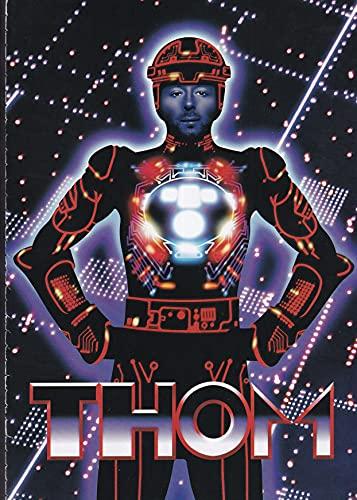 Thom Yorke Borrador - Mini póster de prensa/recorte de revistas
