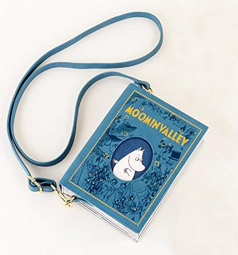 Maia Gifts The World of .Moomin Valley Book Shaped Cross Body Bag