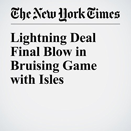 Lightning Deal Final Blow in Bruising Game with Isles audiobook cover art