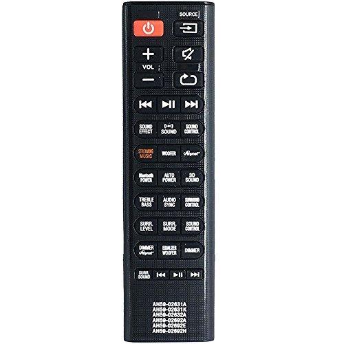 bon comparatif Remplacement de la télécommande ALLIMITY de Samsung HW-H750AH59-02631A AH59-02631KAH59-02632A… un avis de 2021