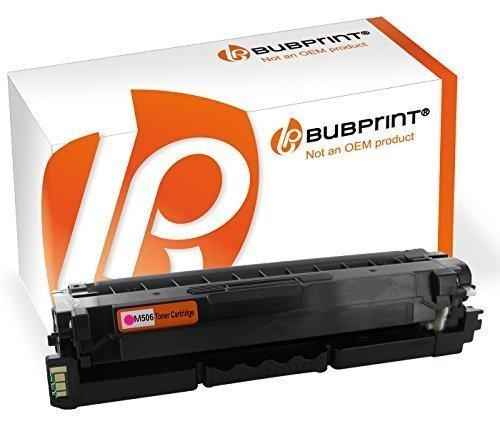 Bubprint Toner kompatibel für Samsung CLT-M506L/ELS für CLP-680 CLP-680DW CLP-680ND CLX-6260FD CLX-6260FR CLX-6260FW CLX-6260ND CLX-6260 Magenta
