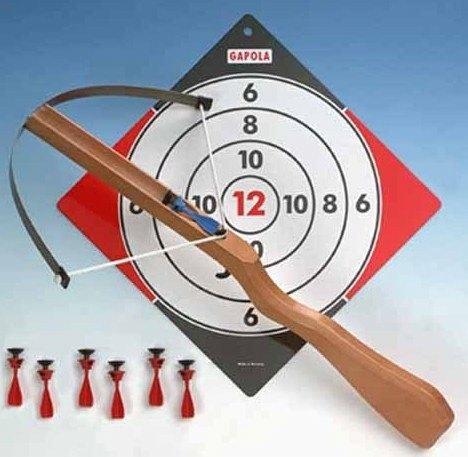 Kinder Armbrust 14 Sicherheitspfeilen, Gapola,