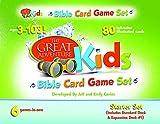Great Adventure Kids Bible Card Game Set