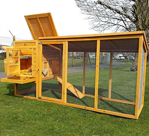 COCOON CHICKEN COOP HEN HOUSE POULTRY ARK NEST BOX NEW - LARGE COOP WITH...