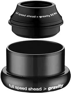 Gravity DX Pro Tapered Headset (Upper: 44mm I.D. Lower: 49.57mm I.D, Steerer Tube: 1-1/8-1.5-Inch Tapered)