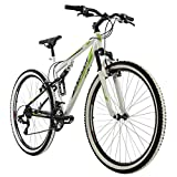 KS Cycling VTT Fully 29' Scrawler pour Homme Blanc RH 51 cm