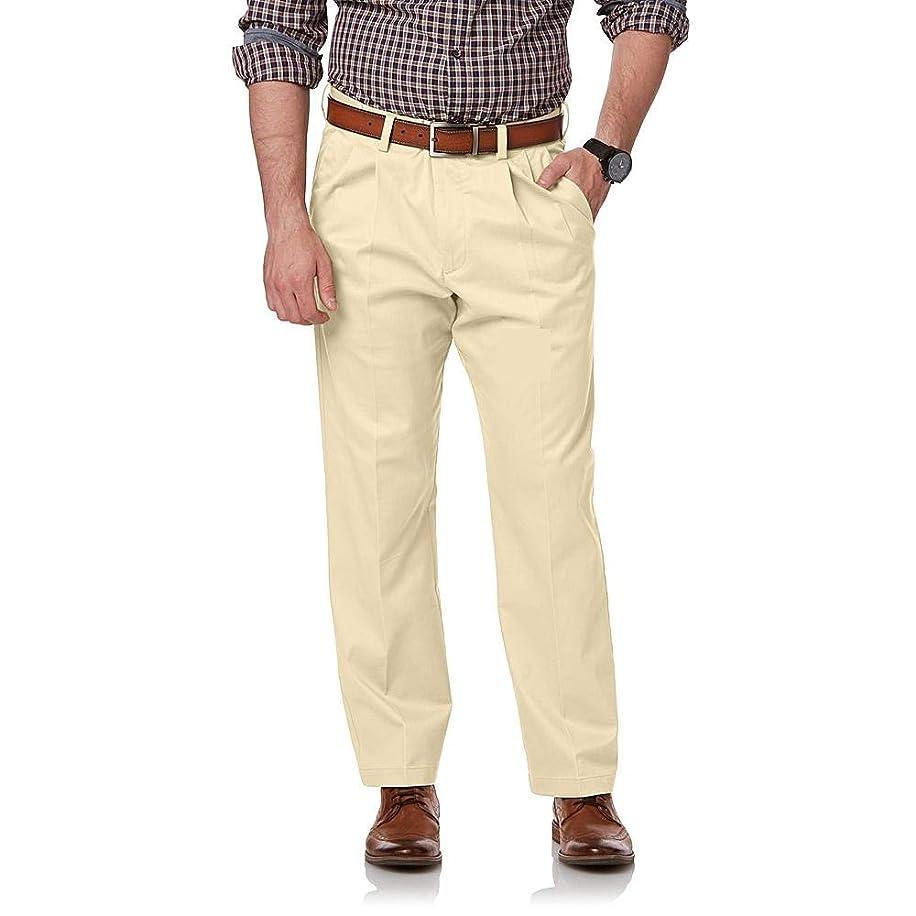 David Taylor Collection Men's Extender Pleated Pants Dress Pants Size 42x30