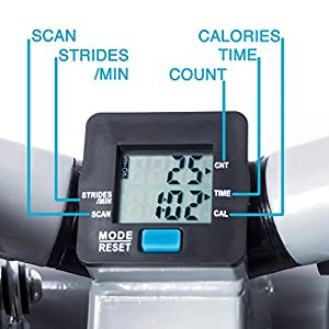 EFITMENT Fitness Stepper Step Machine for Fitness & Exercise (with Resistance Bands)