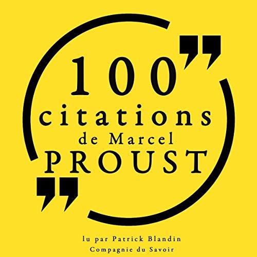 100 citations de Marcel Proust  By  cover art