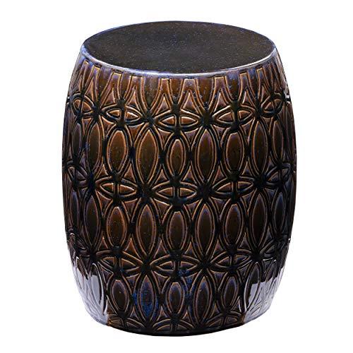 SEI Furniture Narella End Table, Multicolor