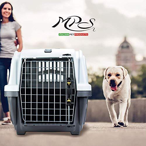 """Nobby 72126 Transportbox für mittlere und große Hunde """"Skudo 3 Iata"""" 60 x 40 x 39 cm - 4"""