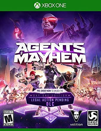 Agents of Mayhem Launch Edition