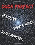Dude Perfect: Notebook/notepad/diary/journal for all Dude Perfect fans. | 80 black lined pages | A4 | 8.5x11...