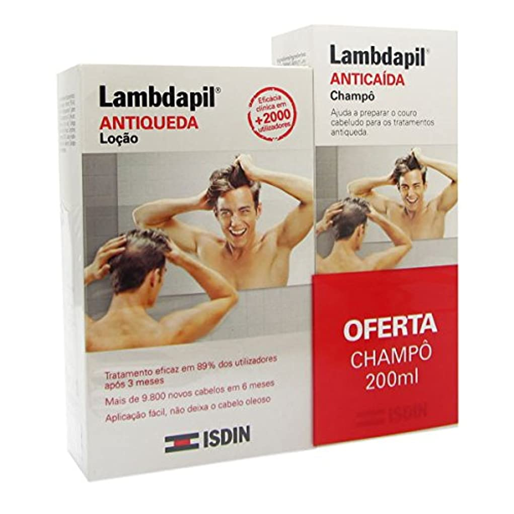 ウェイド太平洋諸島コカインIsdin Lambdapil Anti-hair Loss Lotion And Shampoo Pack [並行輸入品]