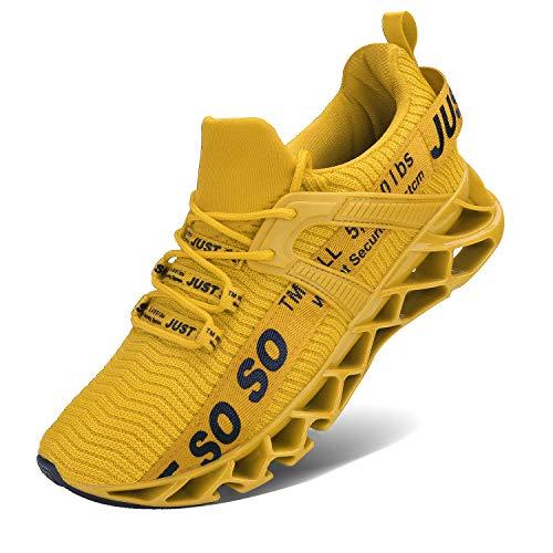 Herren Sneaker Turnschuhe Jungen Sportschuhe Basketballschuhe Schnürschuhe Hallenschuhe Laufschuhe Atmungsaktiv Moderne Freizeit Sport Schuhe