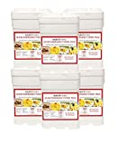 Nutristore 30-Day Emergency Food Supply 6-Month Pack | 1800 Servings | Quality Ready-to-Eat Meals | Preparedness Survival Kit | 25-Year Shelf Life | USA-Made (6-Pack)