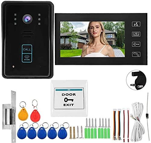 Videoportero de alto rendimiento Sistema de intercomunicación con timbre de puerta Teléfono...