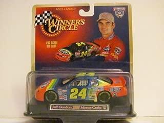 JEFF GORDON - NASCAR - Du Pont #24 (1998 Monte Carlo) - 1998 Edition - Winner's Circle - 1/43 Scale Die Cast - Includes Stand - 50TH ANNIVERSARY (1948-1998) NASCAR
