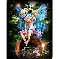 500ピースジグソーパズル蝶の妖精木製パズル500ピース38 * 52CM