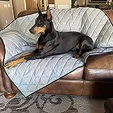 4Knines Premium Dog Blanket (Grey, Heavy-Duty)