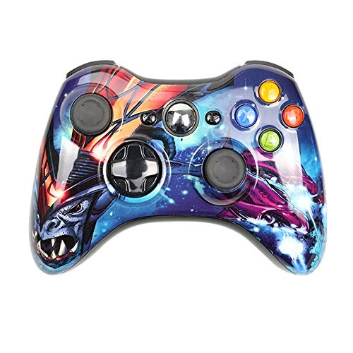 LOGO YCBHD Gamepad Gamepad for Xbox 360 Wireless/Wired Controller for Xbox 360 Wireless Controle la Palanca de Mando for Xbox 360 Controlador de Juego Joypad Gamepad (Color : Wireless War)