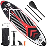 Homde Inflatable Stand Up Paddle Board 6 Inches Thick SUP with Premium...