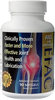 Hope Science EFAC Joint Health and Lubrication Clinically Proven Faster and More Effective Advanced Formula, Doctor Recommended - 90 Softgels