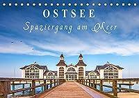 Ostsee - Spaziergang am Meer (Tischkalender 2022 DIN A5 quer): Entdecken Sie die Schoenheit und Faszination der Ostseekueste in Mecklenburg-Vorpommern. (Monatskalender, 14 Seiten )
