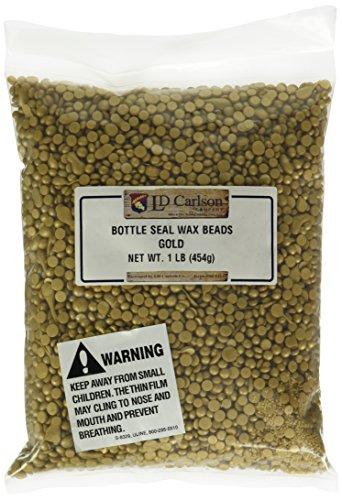 Bottle Seal Wax Beads, Gold
