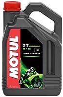 MOTUL(モチュール) 510 2T 2ストローク・モーターサイクル用エンジンオイル(混合・分離) 化学合成 4L [並行輸入品]