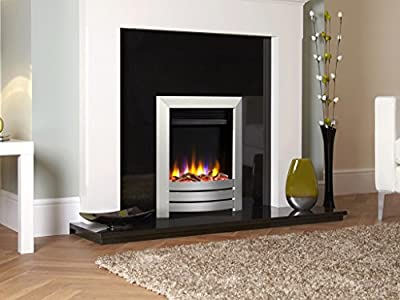 Designer Celsi Fire- Ultiflame VR Camber Electric Fire Silver