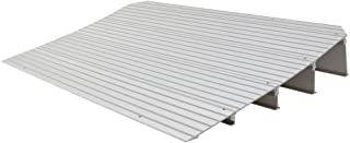 """Silver Spring 4-1/4"""" High Aluminum Mobility Threshold Ramp for Wheelchairs, Scooters, and Power Chairs"""