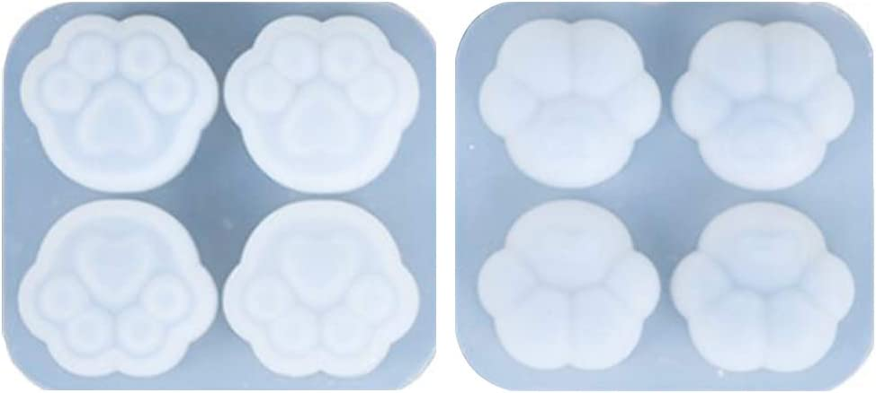 MENGSHI 4-Cavity Challenge the lowest price of Japan ☆ Cats Claw Earrings Pendant Crystal Molds Indefinitely Keycha