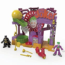 Includes spinning chemical vat, rolling trap, giant spinning hand traps and much more.