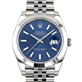 ロレックス ROLEX デイトジャスト 41 126300 ブルー文字盤 新品 腕時計 メンズ (W200603) 並行輸入品