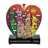 Goebel Welcome to The Big Apple - Figur Pop Art James Rizzi Bunt Porzellan 26102311