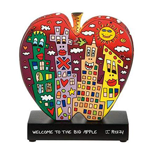 Preisvergleich Produktbild Goebel Welcome to The Big Apple - Figur Pop Art James Rizzi Bunt Porzellan 26102311