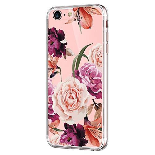 Pacyer Case kompatibel mit iPhone 7 Hülle iPhone 8 Hülle Silikon Ultra dünn Transparent Handyhülle Rückschale TPU Schutzhülle für Apple iPhone 7 / 8 verschiedene Motive