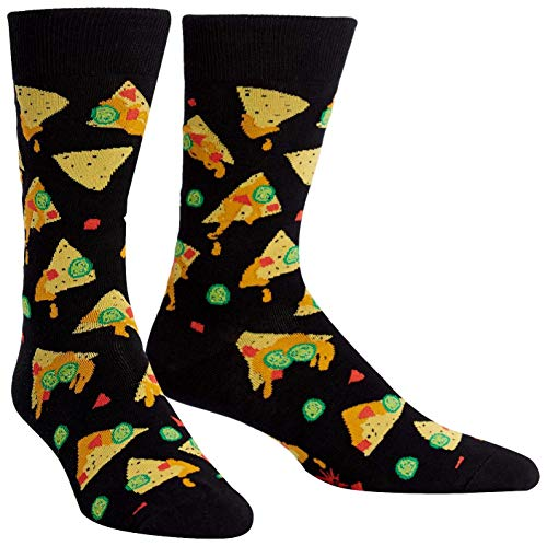 Sock It To Me Herren-Crew Socken - Nacho, Nacho Man (EU Größe: 38-46)