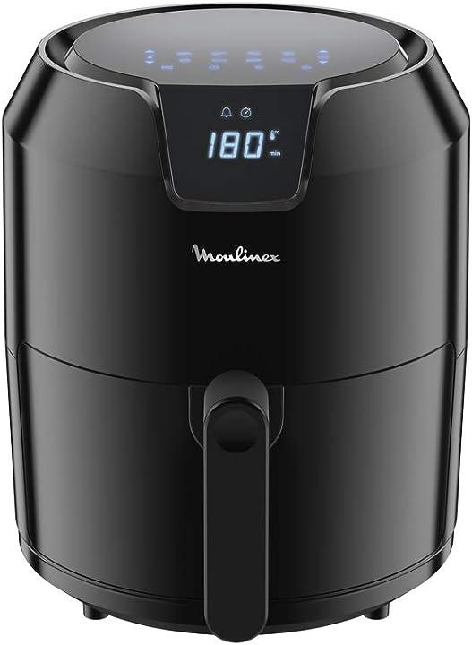 Friggitrice ad aria senza olio moulinex 8 modalità preimpostate capacità xl fino a 6 persone 80° a 200° B07PFQ9LRK