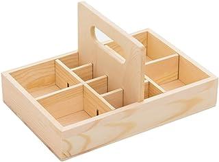 Pine Oil Bottle Solid Oil Display Rack High-Grade Storage Box Essential Oil Packaging Gift Box 12 Grids (Color : Beige)