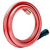 Solution4Patio Homes Garden 3/4 in. x 3 ft. Short Garden Hose Red Lead-Hose Male/Female, No Leaking, Solid Brass Fitting for Water Softener,Dehumidifier,Vehicle Water Filter 12 Year Warranty #H1165B25